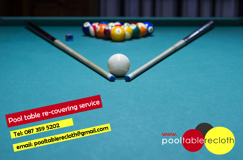 Pool Table Recovering Ireland - Billiard table recovering